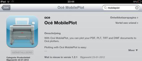 Eenvoudig plotten vanaf de Apple iPad