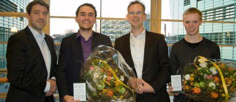 Aansprekende scripties over Yubikey en Business Process Modeling beloond met Aia Software Awards 2012