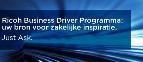 Uitbreiding op Ricoh Business Driver Programma om tegemoet te komen aan uitdagingen voor printprofessionals