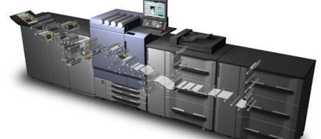 Konica Minolta's bizhub PRESS C8000 de best verkochte kleurenproductieprinter van Europa in 2011
