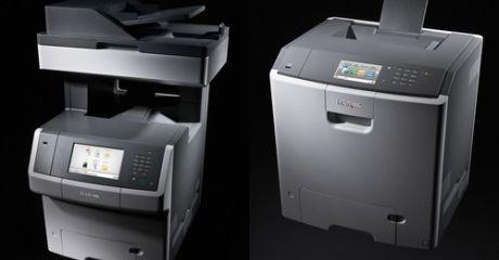 Lexmark vergroot autonomie en productiviteit in middelgrote bedrijven met krachtige nieuwe kleurenprinters en slimme MFP's