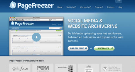 Gemeente Zoetermeer kiest PageFreezer voor webcommunicatie-archivering