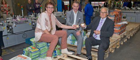 Nieuwe pand Van der Meer biedt ruimte aan 's werelds grootste Kirk-Rudy foldervergaarsyteem