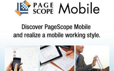 Konica Minolta introduceert PageScope Mobile voor Android