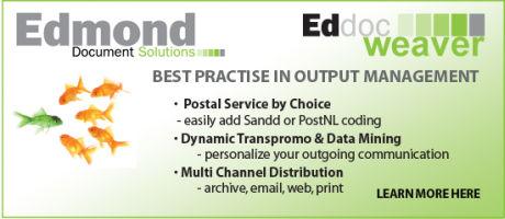 Ricoh en Edmond Document Solutions bieden unieke combinatie van output management oplossingen dankzij samenwerking