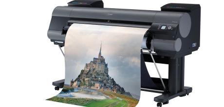 Canon breidt imagePROGRAF-aanbod uit met vijf grootformaat printers en optionele spectrofotometer