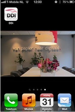 DDi Document Software presenteert eigen app