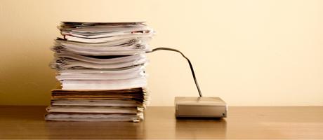 Papierloos werken: waarom, hoe en in welke mate?