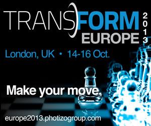 25% korting voor Docufacts lezers voor Photizo Transform 2013