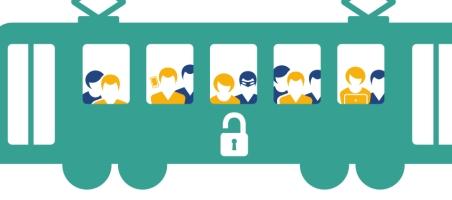 Datadief gluurt bij reizigers in het openbaar vervoer