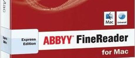 ABBYY biedt Professionele OCR-tool voor Mac-gebruikers