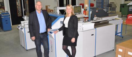 Print&mail fabriek van AddComm uitgebreid met Böwe Systec Turbo couverteer systeem met 2D barcode controle