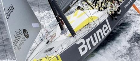 Veenman business supporter van Team Brunel in de Volvo Ocean Race