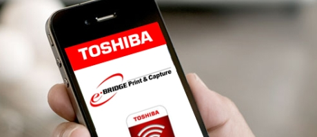 Printen met tablet op Toshiba e-STUDIO multifunctionals voor iOS em Android met e-BRIDGE Print & Capture