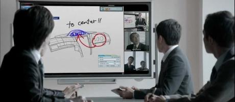 Smart Digitaal vergaderen met Sharp Big Pad  en Touch Display App