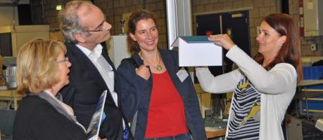 Boek Produceren op Bestelling tijdens Scan Laser Open Huis