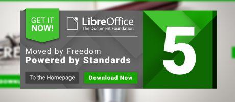 TDF lanceert LibreOffice 5.0, gratis alternatief voor Word, Excel en Powerpoint