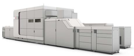 Océ VarioPrint i300 met nieuwe ColorGrip-optie biedt inkjet-productie van graphic arts-toepassingen