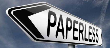 World Paper Free Day, maar ´papierloos´ werkt niet