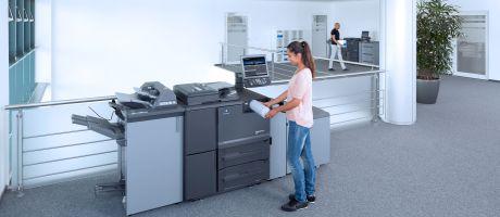 Konica Minolta introduceert bizhub PRO 1100: nieuwe generatie voor zwart-wit printen