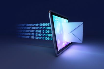 Volledige registratie in postkamer registratiemodule