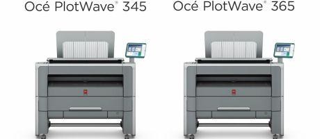 Canon introduceert nieuwe Océ PlotWave-systemen voor technische documenten