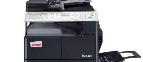 DEVELOP introduceert monochroom A3-systeem ineo 226