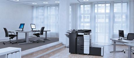 Nieuwe Konica Minolta bizhub C558 verbetert kantoordigitalisering