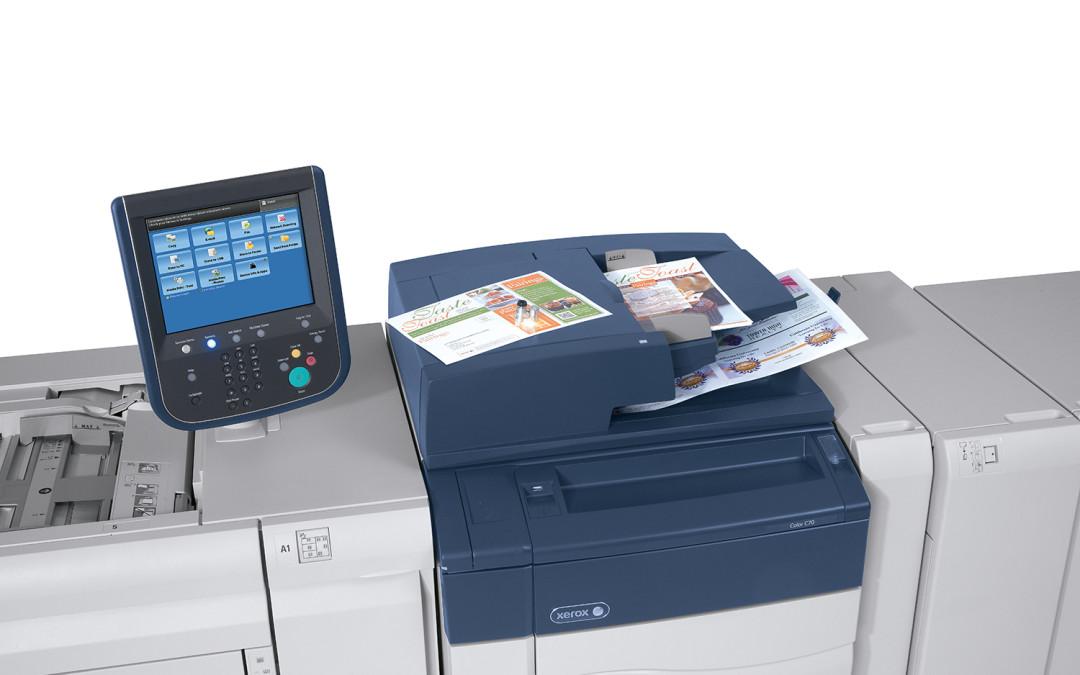 Verbeteringen Xerox C60/C70 bieden nieuwe toepassingsmogelijkheden voor alle printomgevingen