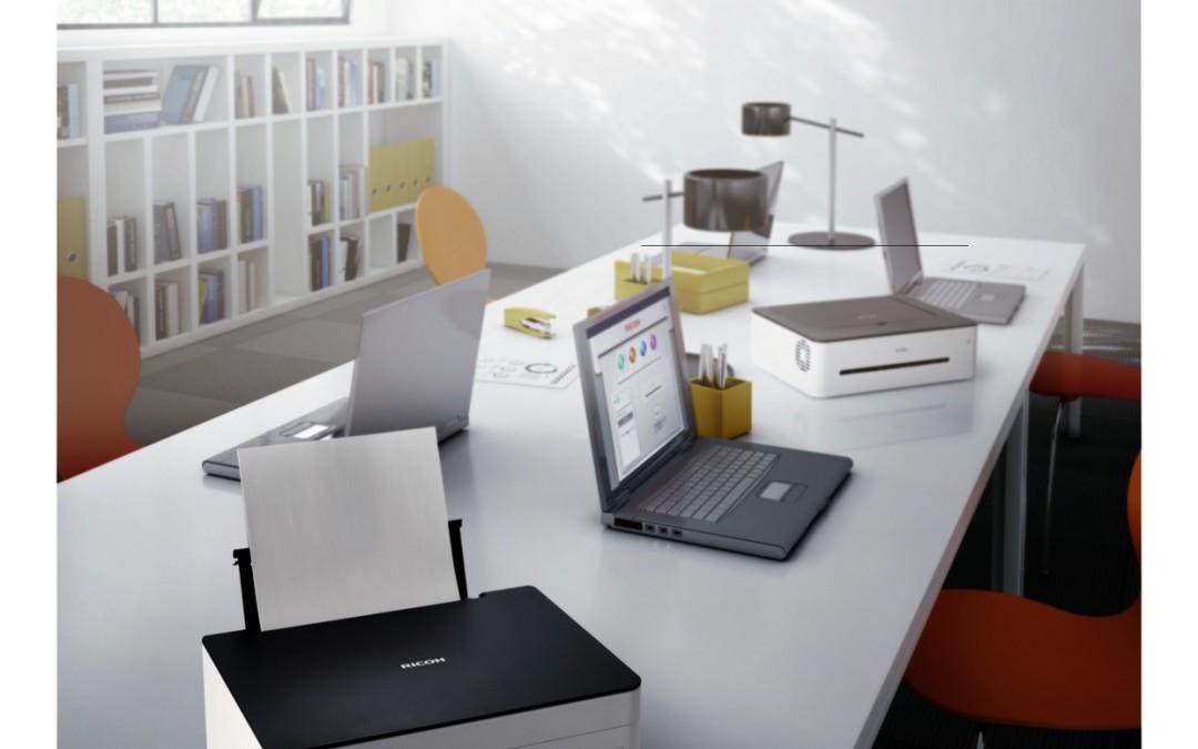 Ricoh lanceert customisable printerserie voor het kleine of thuiskantoor