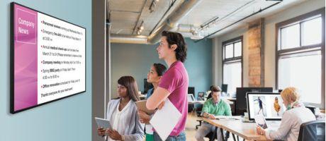 Sharp specialiseert zich in innovatieve producten voor digitale informatievoorziening