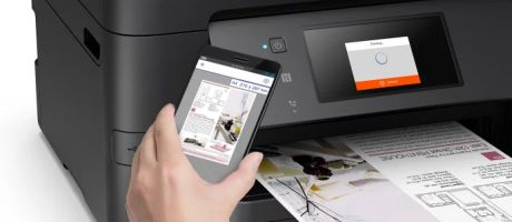 Epson WorkForce Pro compacte multifunctionals voor MKB