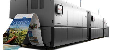 Drukwerkspecialist Bell & Bain kiest voor Ricoh Pro VC60000 hoog volume inktjet productieprinter