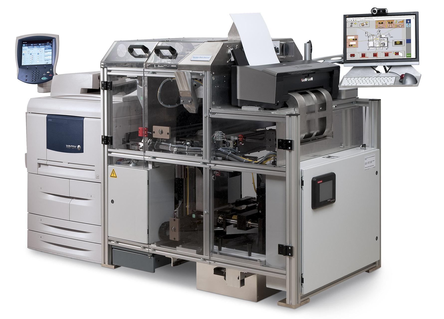 Espresso Book Machine zorgt binnen een paar minuten voor ad hoc geprint boek bij The American Book Center