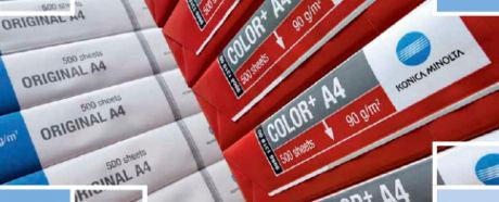 Konica Minolta breidt productassortiment uit met papier