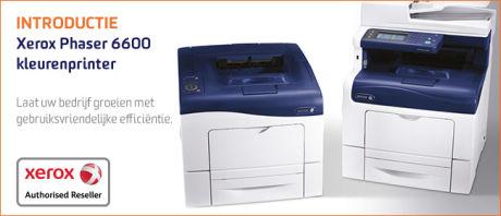 Nieuwe (multifunctionele) kleurenprinters van Xerox bieden het MKB hoger rendement bij IT-investeringen