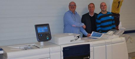 WK creatieve communicatie investeert in digitale drukwerk capaciteit met Xerox J75 digitale kleurenpers