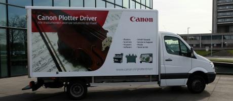 Canon Roadshow toont bedrijven plotters en SMART Boards op maat