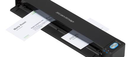 Voor het eerst op IFA: Fujitsu ScanSnap-documentscanners