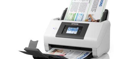 Epson introduceert WorkForce DS-780N, 90 ipm A4 losblad scanner