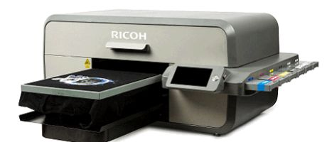 Ricoh Ri3000 en Ri6000 grootformaat latexprinters voor textieldruk